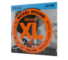 Encordoamento para Guitarra Nickel Wound Regular Ligth 010 - Código 3379